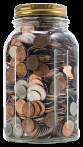 Bote monedas